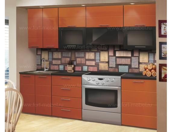 Кухонный гарнитур «Апельсиновый фреш»