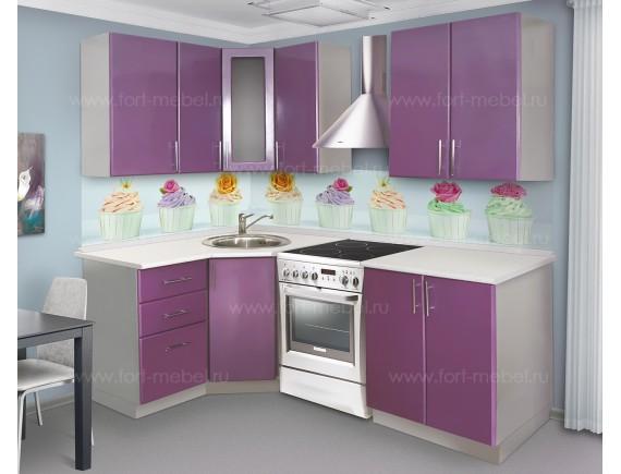 Кухонный гарнитур «Спелая черника»