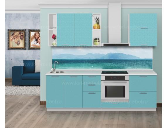 Кухонный гарнитур «Голубая лагуна»