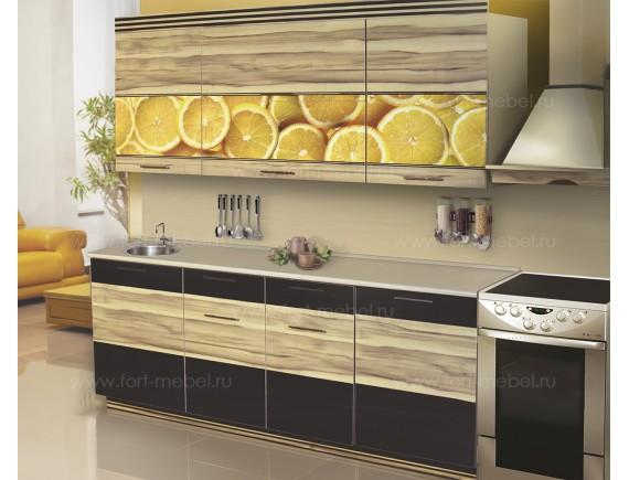 Кухонный гарнитур «Сочные лимоны»