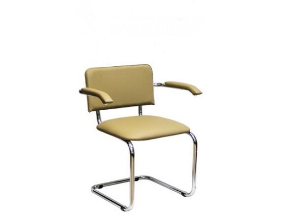 Конференц-кресло Сильвия АРМ/хром